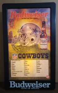 Budweiser Beer NFL Dallas Cowboys Light budweiser beer nfl dallas cowboys light Budweiser Beer NFL Dallas Cowboys Light budweiserdallascowboyslight1991 187x300