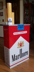 Marlboro Cigarettes Lighted Pack Sign beer sign collection My Beer Sign Collection 2 – Not for sale but can be bought… marlboropacklightedsign2 e1627209705804