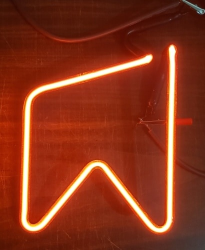 Michelob Beer Neon Sign Tube
