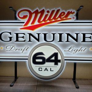 Miller Genuine Draft Light 64 Beer Sign [object object] Home millergenuinedraftlight64artlite2009 300x300