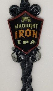 Abita Wrought Iron IPA Tap Handle
