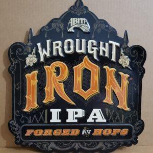 Abita Wrought Iron IPA Tin Sign