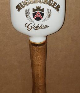 Augsburger Golden Beer Tap Handle