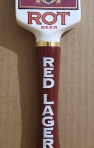Augsburger Red Lager Tap Handle