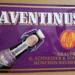 Aventinus Beer Tin Sign