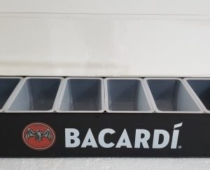 Bacardi Rum Condiment Tray