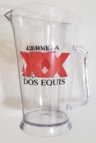 Dos Equis Beer Pitcher