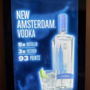 New Amsterdam Vodka LED Sign