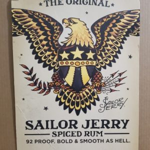 Sailor Jerry Spiced Rum Sign