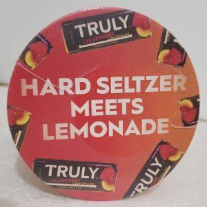 Truly Hard Seltzer Coaster