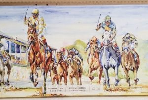 Woodford Reserve Whiskey Kentucky Derby Sign
