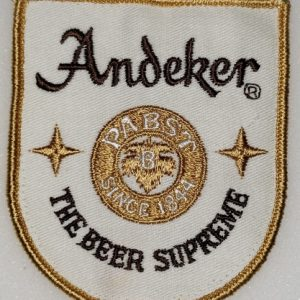 Andeker Beer Uniform Patch
