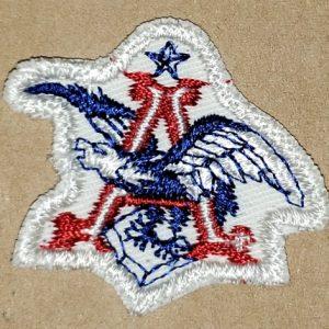 Anheuser Busch Eagle Beer Uniform Patch