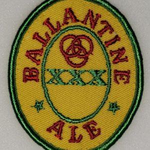 Ballantine Ale Uniform Patch