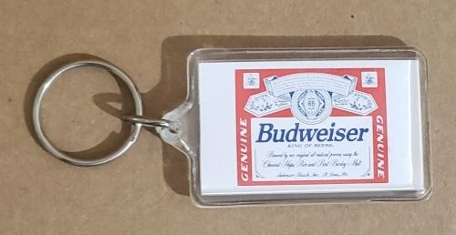 Budweiser Beer Keychain