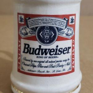 Budweiser Beer Mini Stein