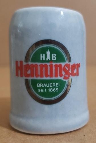 Henninger Beer Mini Stein