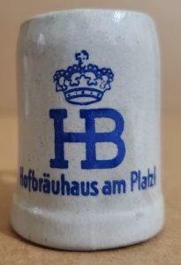 HB Beer Mini Stein hb beer mini stein HB Beer Mini Stein hofbrauhausministein 205x300