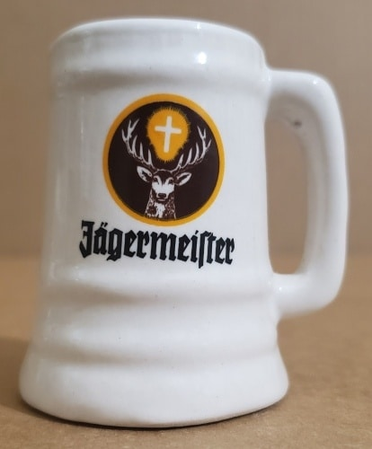 Jagermeister Liqueur Mini Stein