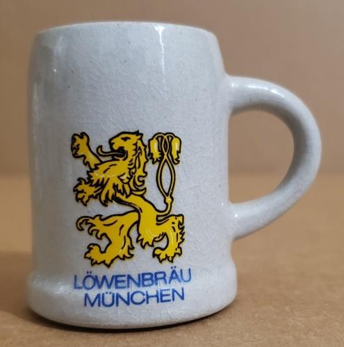 Lowenbrau Beer Mini Stein
