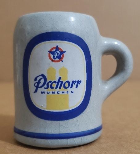 Pschorr Beer Mini Stein