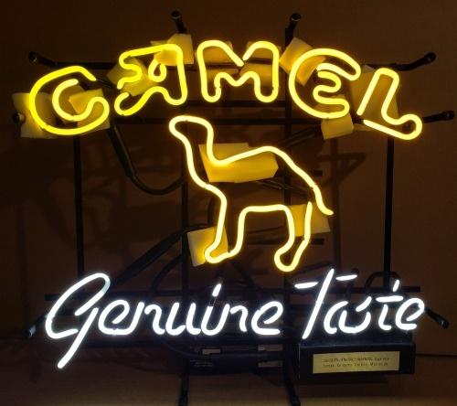 Camel Cigarettes Neon Sign