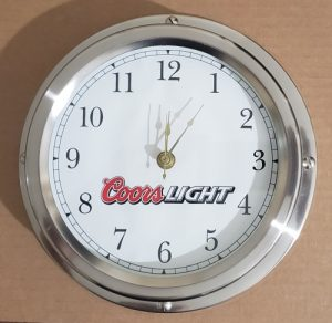 Coors Light Beer Clock coors light beer clock Coors Light Beer Clock coorslightstainlesssteelclock 300x292