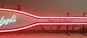 Leinenkugels Beer Paddle Neon Sign