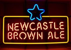 Newcastle Brown Ale Neon Beer Bar Sign Light neon beer signs for sale Home newcastlebrownale2013 landscape